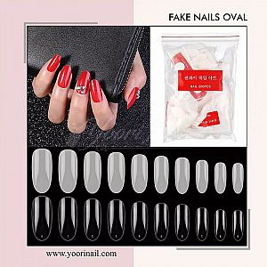 Fake Nails Oval 500pcs