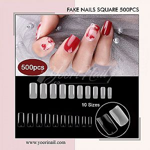 Fake Nails Full Square 500pcs